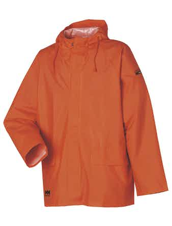 Regnjacka Helly Hansen Orange Mandal Stl S