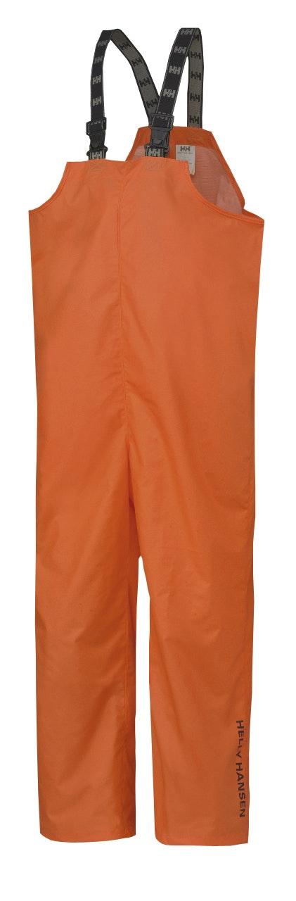 Regnbyxa Helly Hansen Med Hängslen Orange Mandal Stl XL