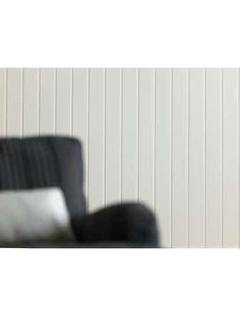 Interiörpanel Moelven Furu Trend Pärlspont Vitvax Natur 12x95