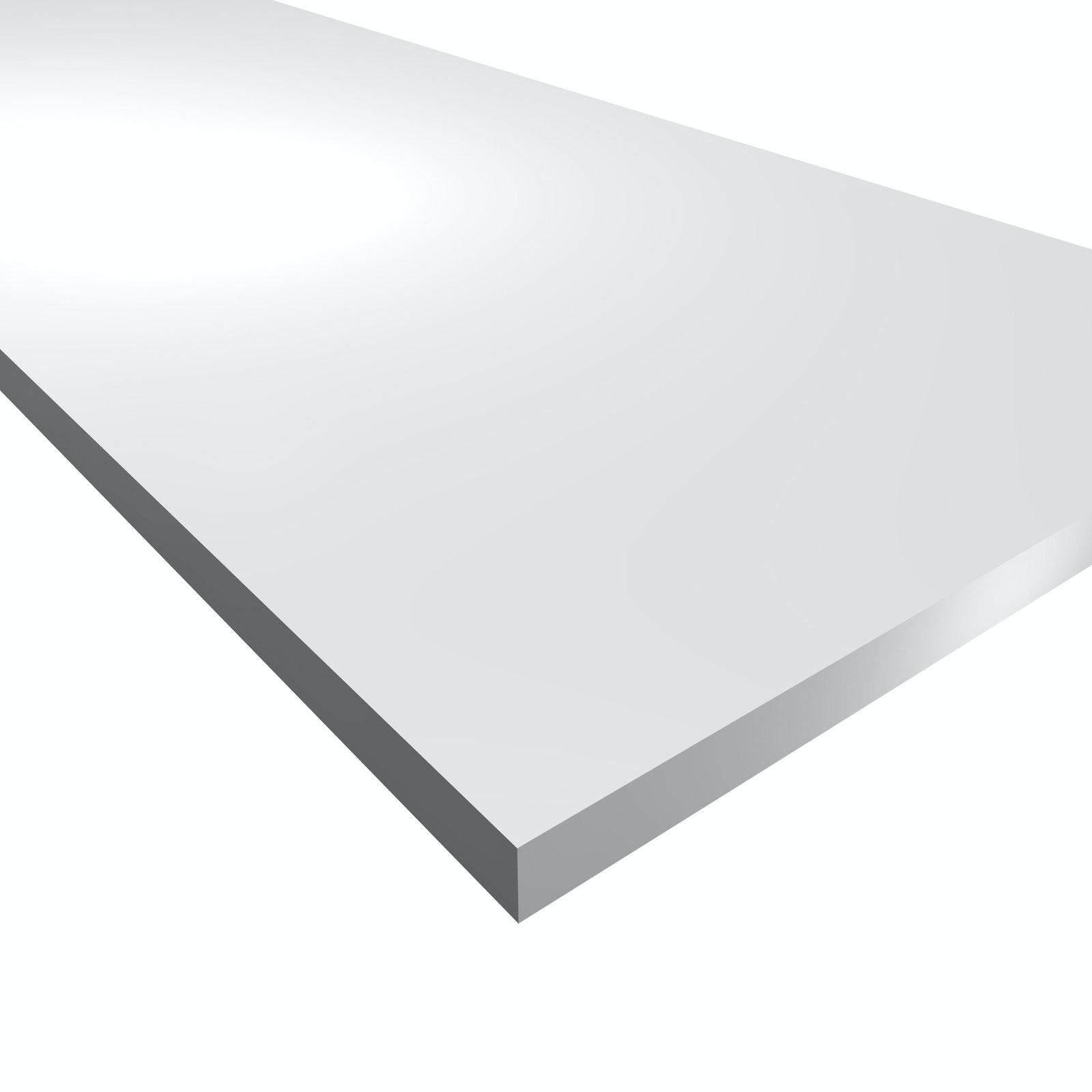Hyllplan Moelven Vit Melamin 18x400x1800mm