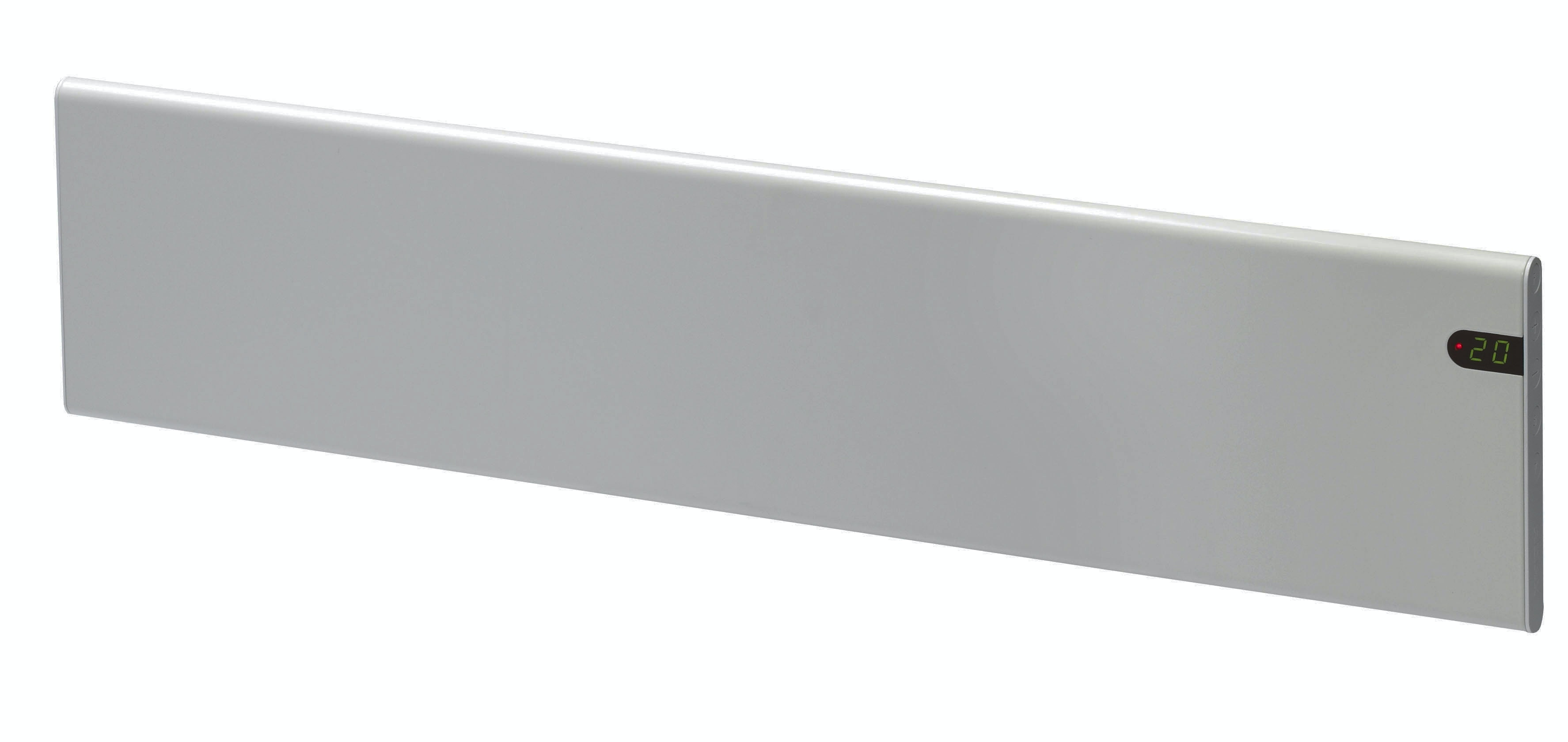El-element Adax Neo List 1050x200mm Silver 800W 230V