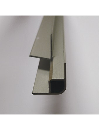 Hörnlist Fibo Tresbo Utvändig Aluminium Urtappad