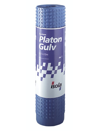 Platonmatta Blå Golv, 1,07x10 M 10,7m²