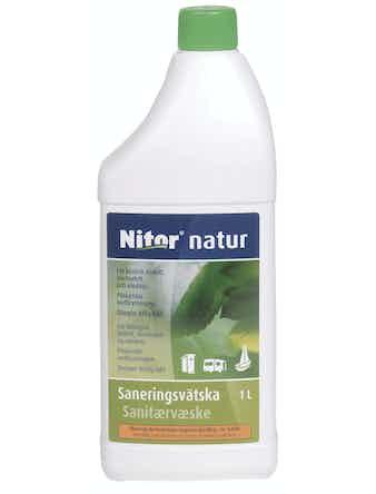 Sanitesprodukt Nitor Saneringsvätska Natur 1l