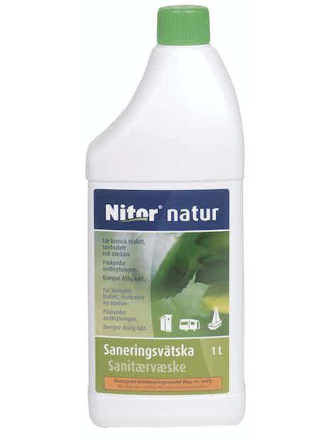 SANITEETTINESTE NATUR 1L BIOLOGINEN