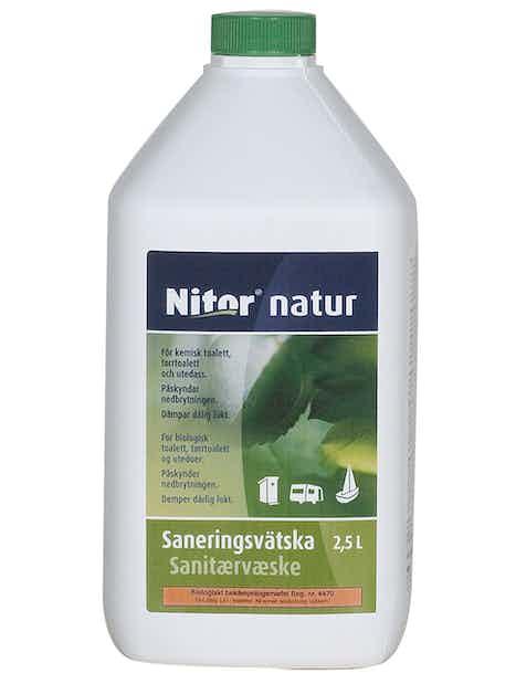 SANITEETTINESTE NATUR 2,5L BIOLOGINEN