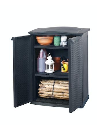 Skåp Keter Mini Compact Cabinet Antracitgrå