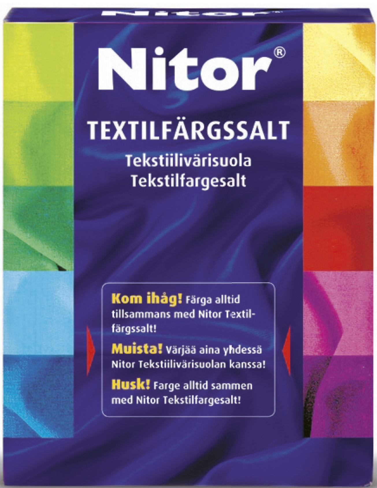 Textilfärgsalt Nitor 500g
