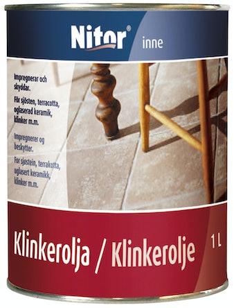 Klinkerolja 1L