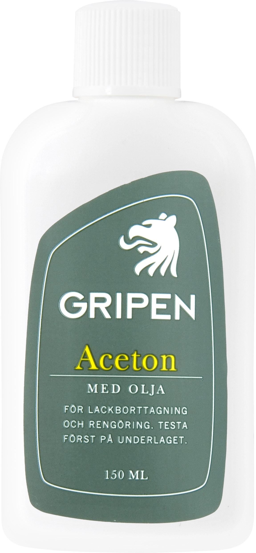Aceton Gripen Med Olja 150ml