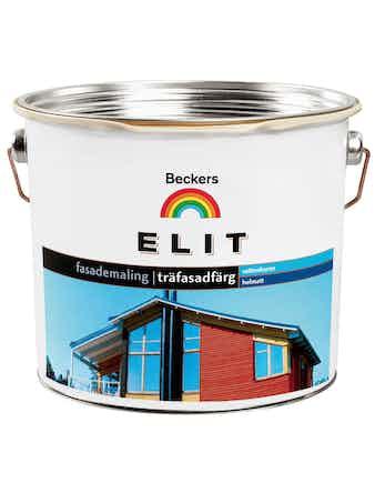 Träfasadfärg Beckers Elit Gul 10L