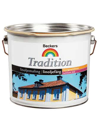 Linoljefärg Beckers Tradition Vit 9,4L