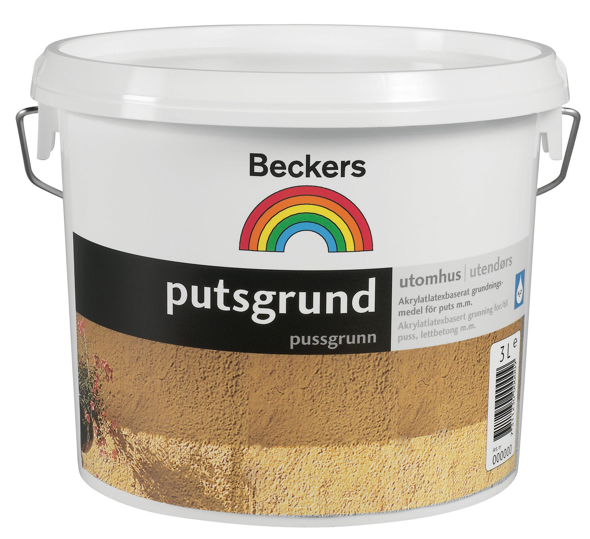 Putsgrund Beckers 10L