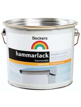 Hammarlack Beckers 10 Porfyrsvart 0,5L