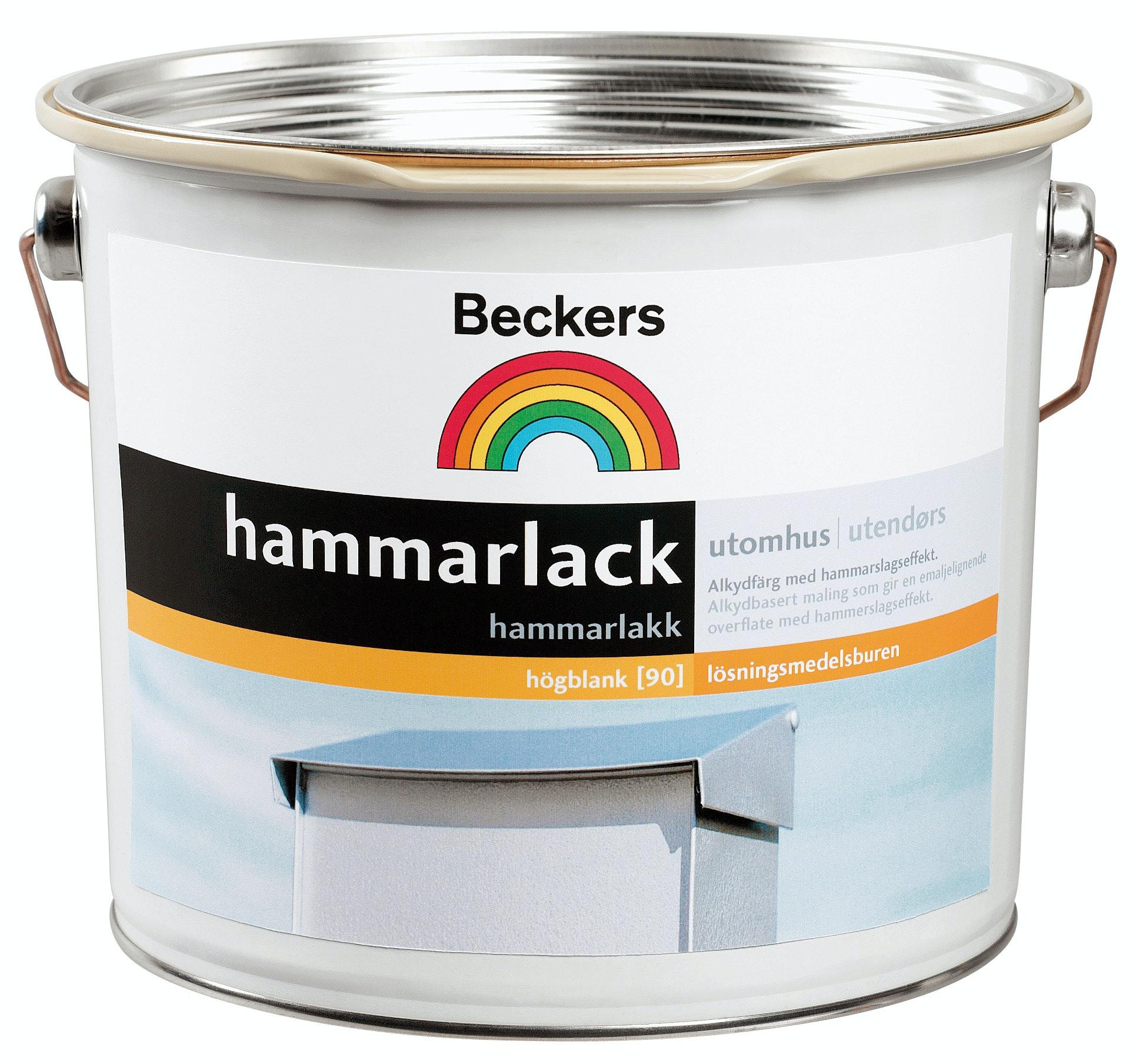 Hammarlack Beckers 8 Silver Bas C 0,45L
