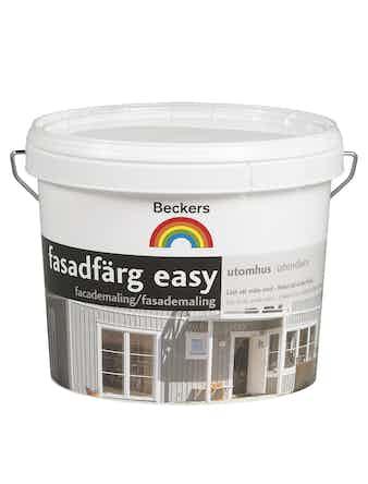 Fasadfärg Beckers Easy utevit 3l