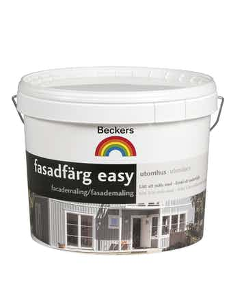 Fasadfärg Beckers Easy Bas C 2,7L