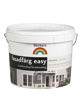 Fasadfärg Beckers Easy Bas C 9L