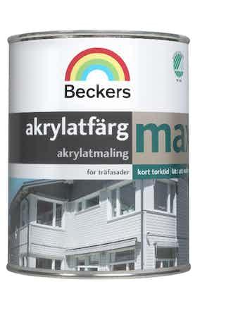 Akrylatfärg Beckers Max Bas A 0,9L