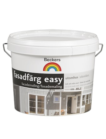 Fasadfärg Beckers Easy Bas A 9L