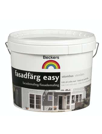 Fasadfärg Beckers Easy Bas A 2,7L