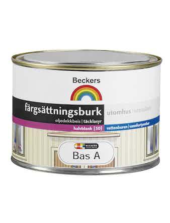 Färgsättningsburk Beckers Ute Bas A 0,45L