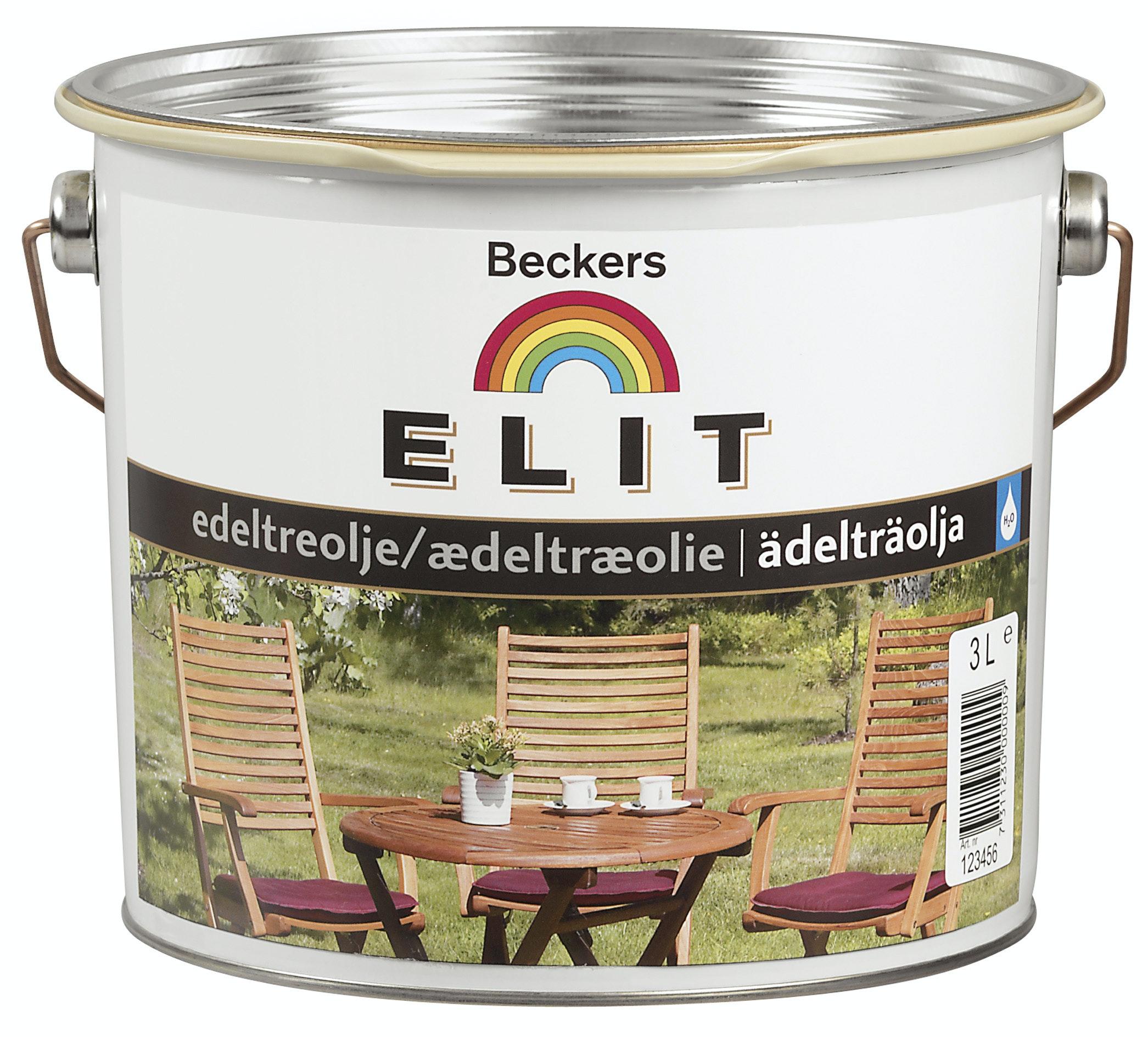 Ädelträolja Beckers Elit 2,7L