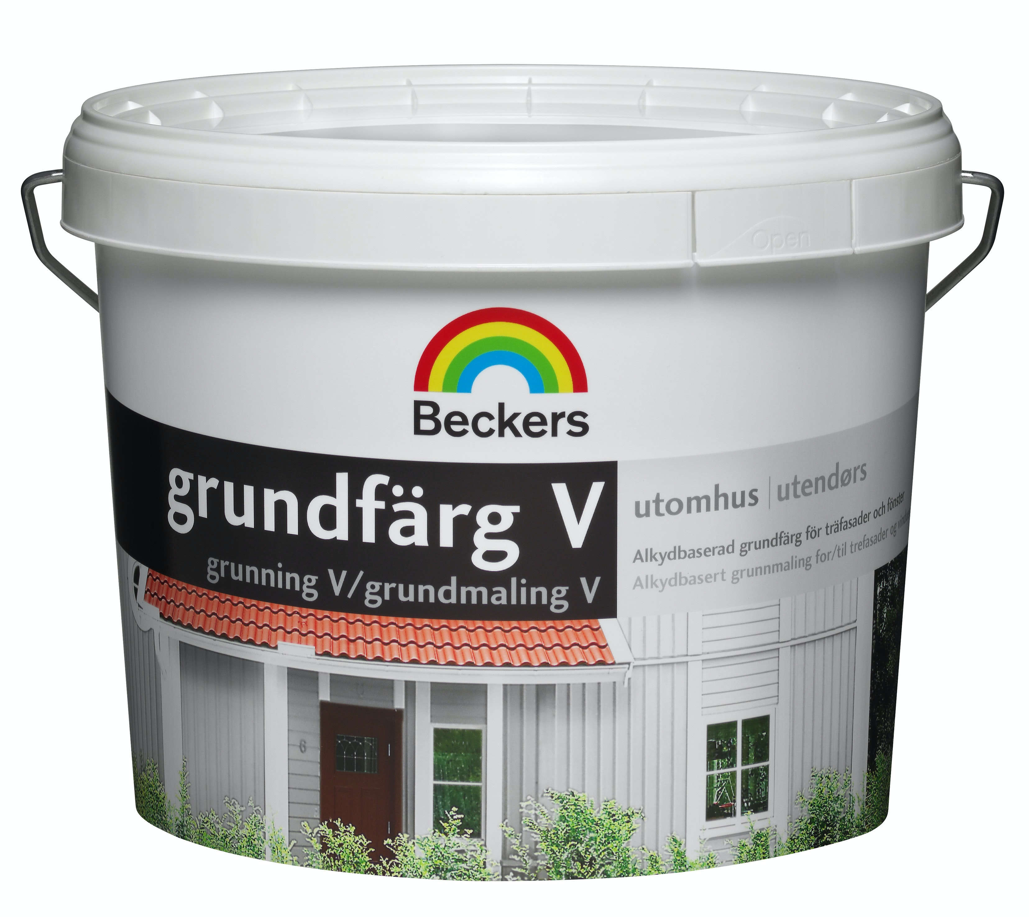 Grundfärg V Beckers Vattenbaserad Vit 3L