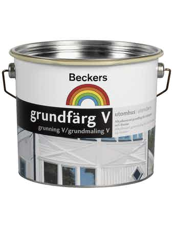 Grundfärg Beckers Vattenbaserad Gul 3L