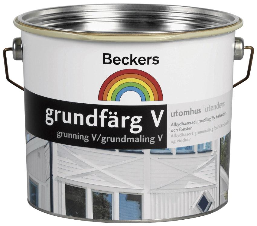 Grundfärg Beckers Vattenbaserad Röd 3L