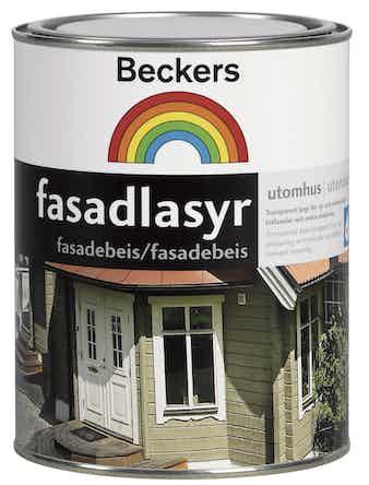 Fasadlasyr Beckers Vit 1L