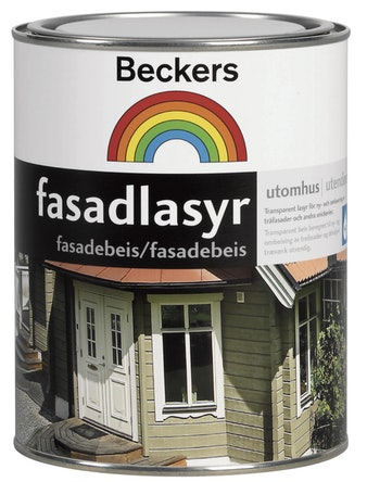 Fasadlasyr Beckers Mörkbrun 1L