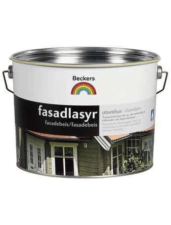 Fasadlasyr Beckers Svart 10L
