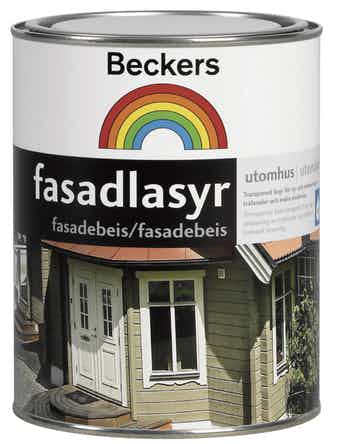 Fasadlasyr Beckers Brunsvart 1L