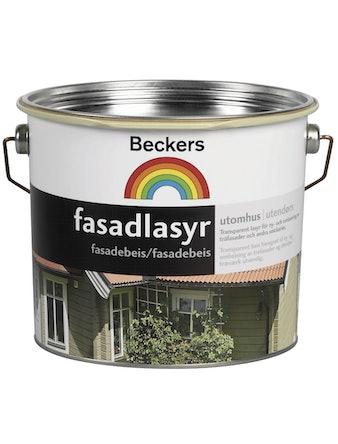 Fasadlasyr Beckers Brunsvart 3L