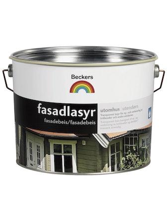 Fasadlasyr Beckers Brunsvart 10L