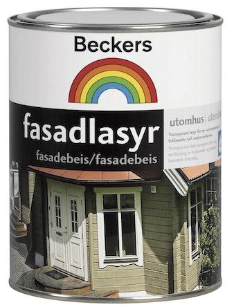 Fasadlasyr Beckers Bas Orange 0,9 L