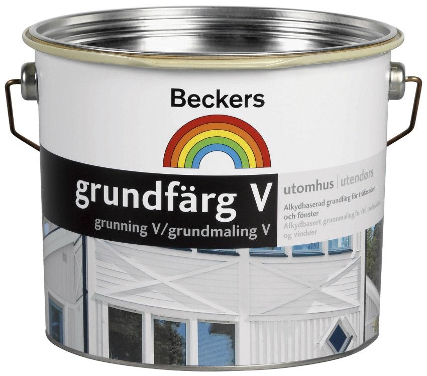 Grundfärg Beckers Vattenbaserad Bas C 2,7L