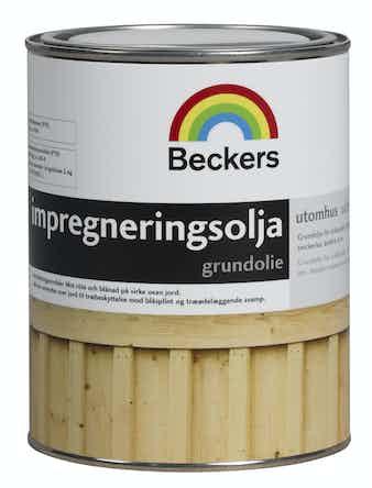 Impregneringsolja Beckers 0,9L