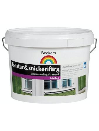 Utomhusfärg Beckers Fönster & Snickerifärg Utevid 3 L