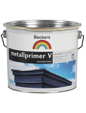 Metallprimer Beckers Vattenbaserad Grå 3L