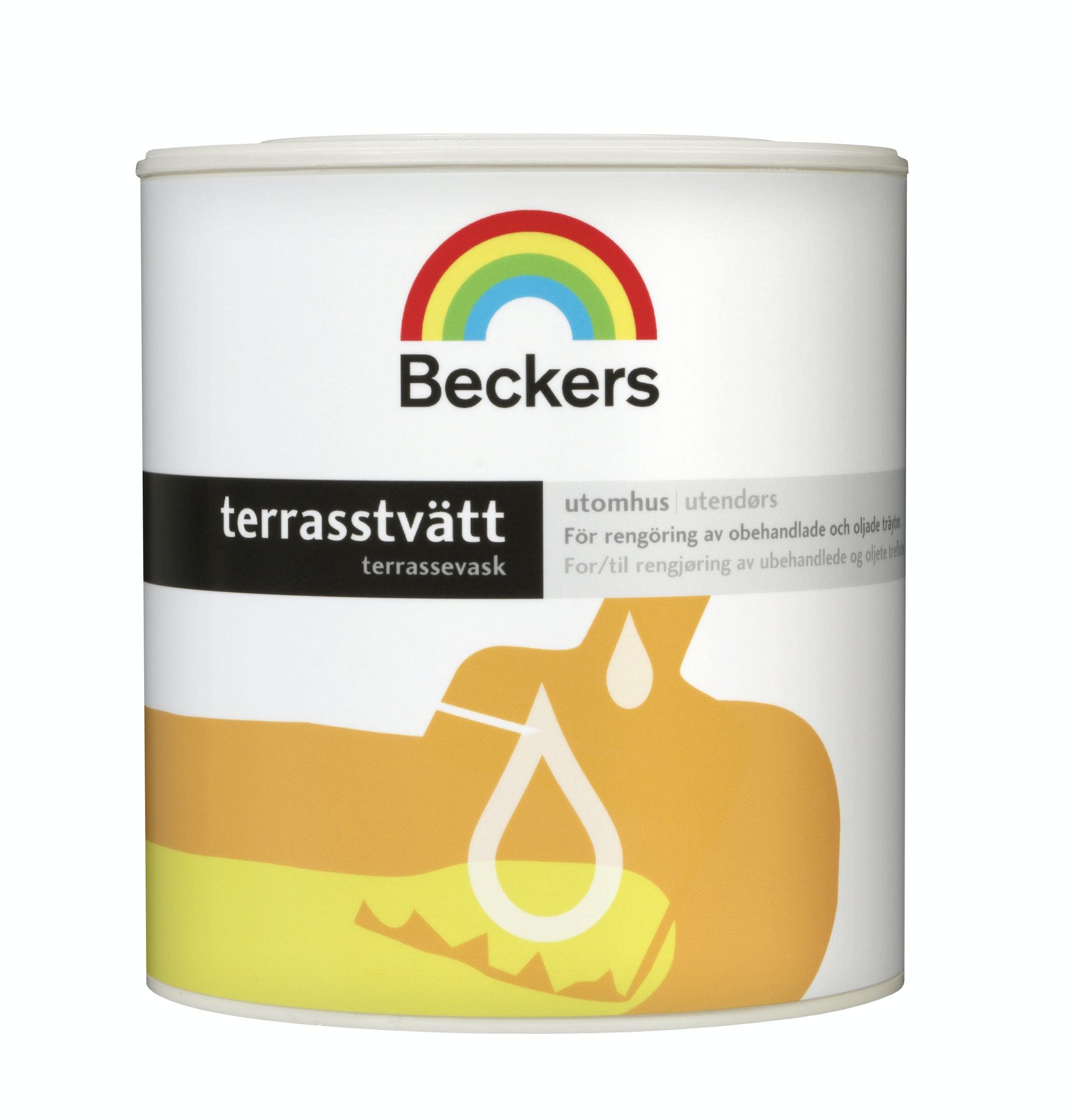 Terrasstvätt Beckers 0,5L
