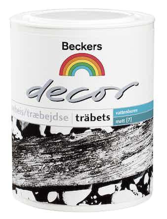 Träbets Beckers Decor Färglös 0,9L