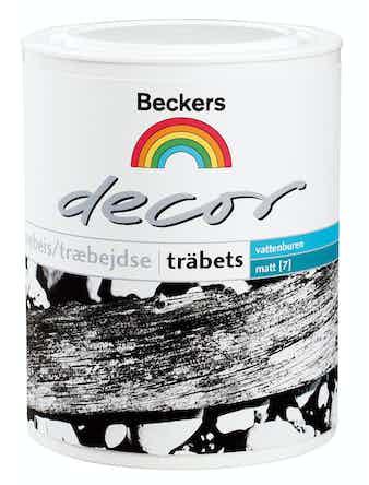 Träbets Beckers Decor Färglös 2,7L