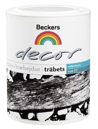 Träbets Beckers Decor Vit 1L