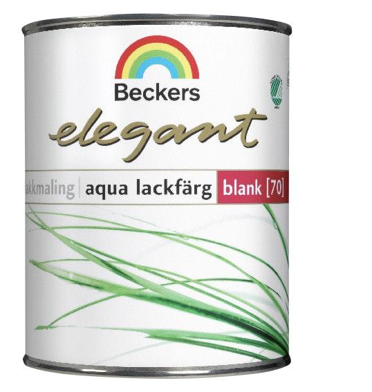 Lackfärg Beckers Elegant Aqua Blank Bas A 0,45l