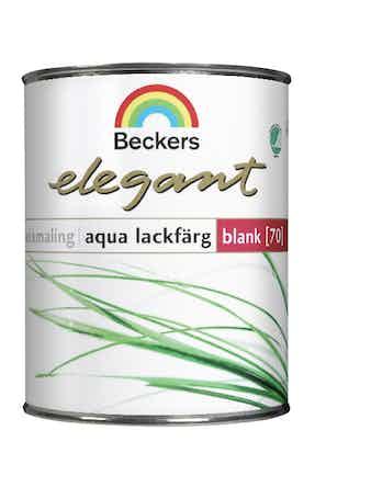 Lackfärg Beckers Aqua Elegant Blank Bas A 0,45L