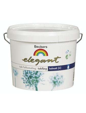 Takfärg Beckers Elegant Vit 10L