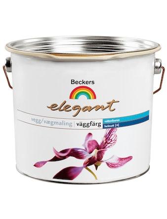 Väggfärg Beckers Elegant Helmatt Bas C 2,7L