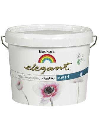 Väggfärg Beckers Elegant Matt 502 Antikvit 1L